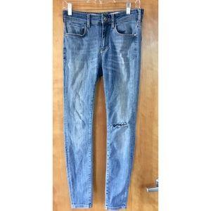 Anthropologie Pilcro Letterpress High Rise Jeans